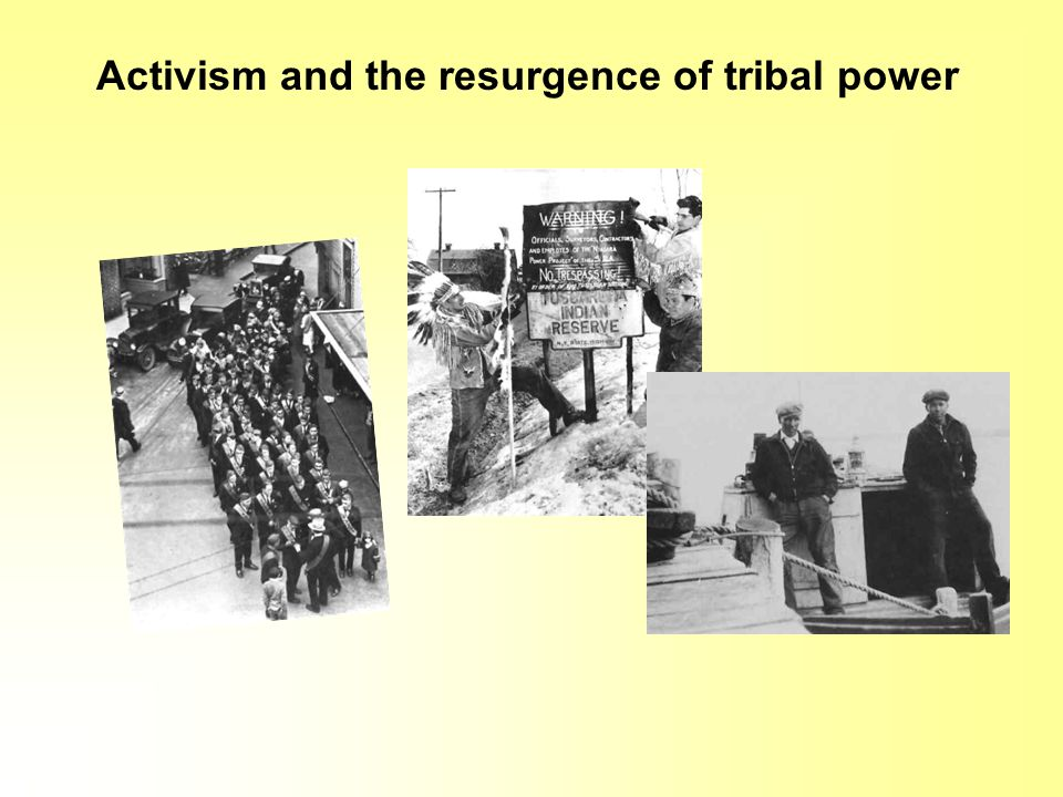 Activism and the resurgence of tribal power