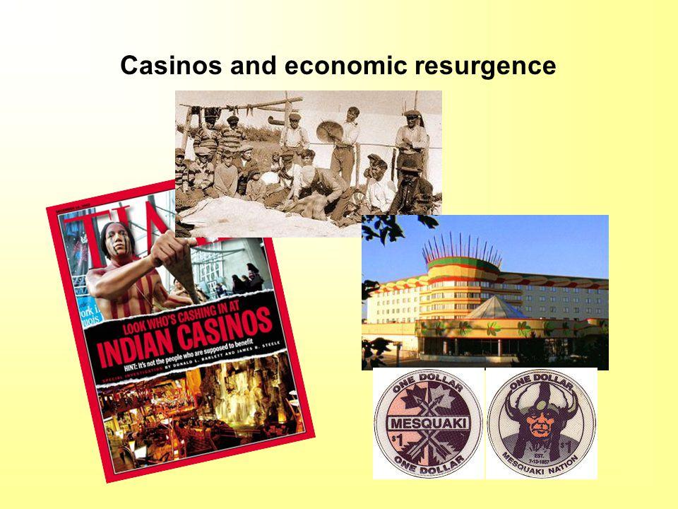 Casinos and economic resurgence