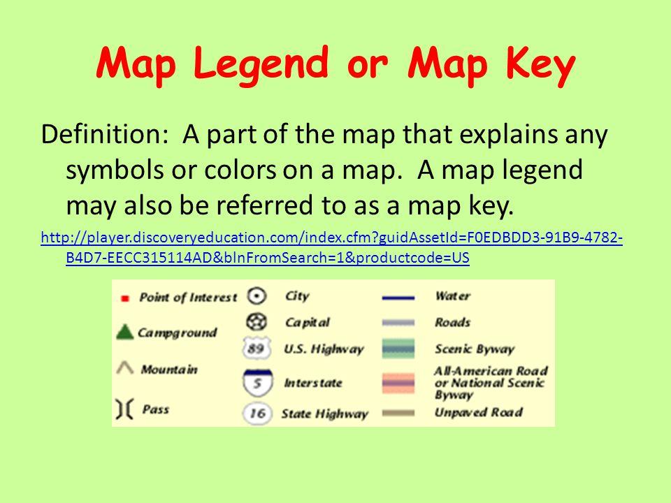 Map Key Definition | My blog