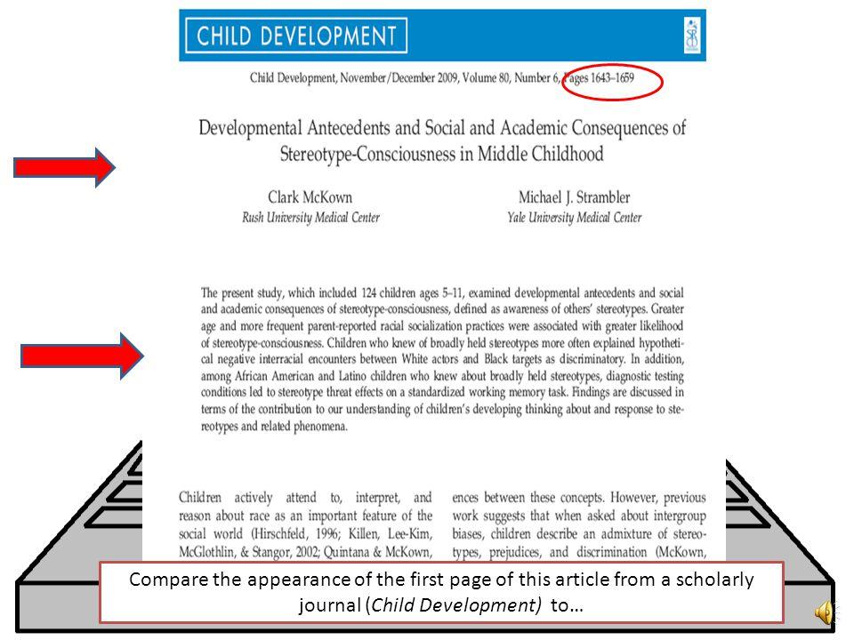 Scholarly journals online