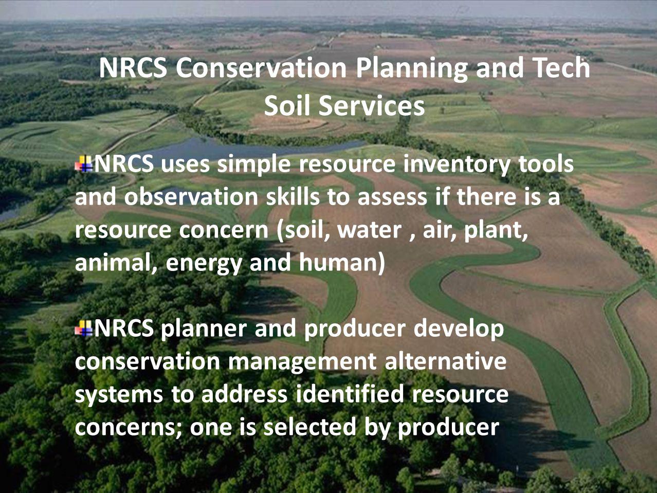 observation to conserve land