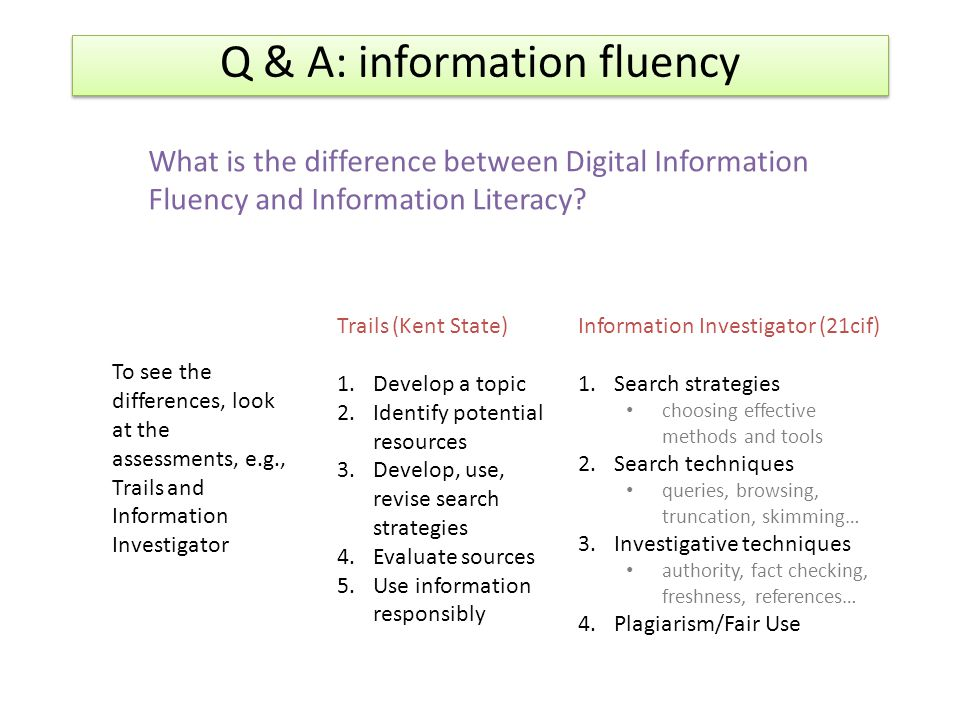 difference between computer literacy and information systems literacy with examples