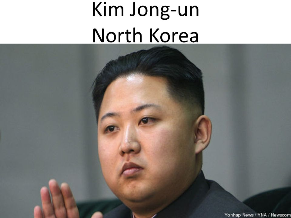 Kim Jong-un North Korea