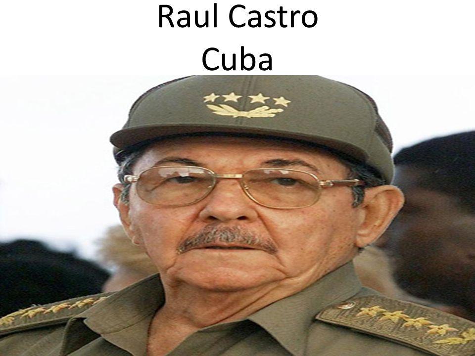 Raul Castro Cuba