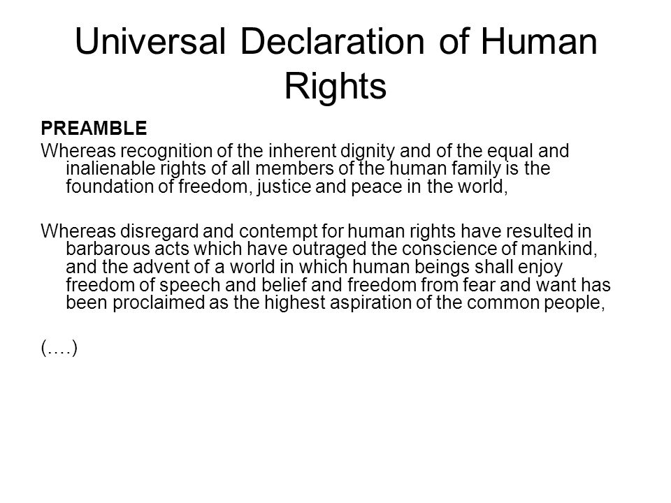 a description of excerpts from the declaration of human rights Declaration of independence & declaration of the rights of man comparison reading this great, higher-level-thinking worksheet presents excerpts from both america's declaration of independence and the french declaration of the rights.