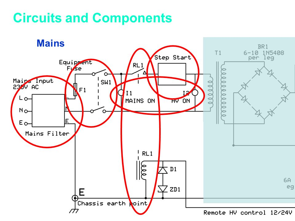 Mains Circuits and Components
