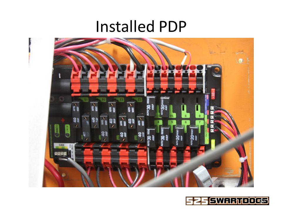 slide_27 2015 frc control system = mol = duk power distribution board volts