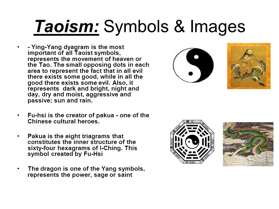 Taoism Symbols Images Ying Yang Dyagram Is The Most Important