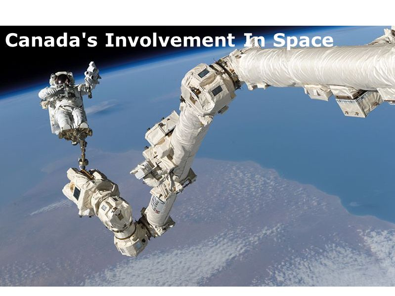 Canada s Involvement In Space
