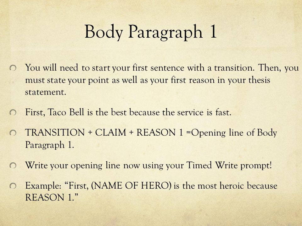 How To Start A Paragraph In An Essay