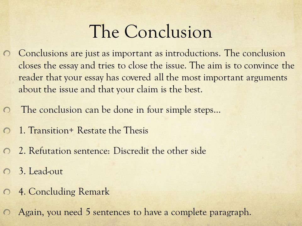 How do I start a conclusion without the obvious- In conclusion, To Conclude, blah blah blah?
