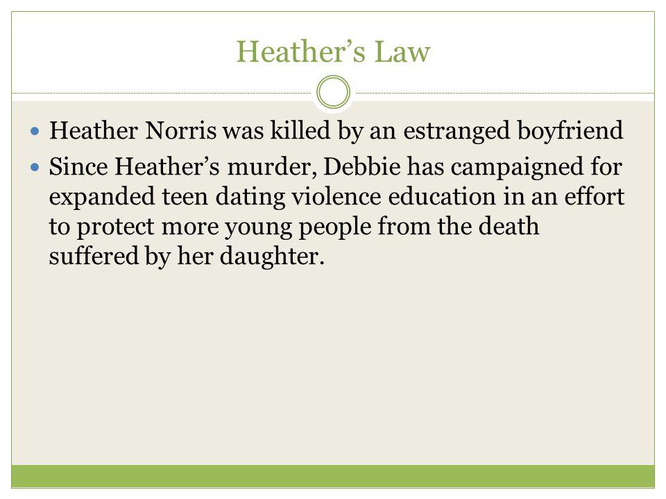 Dating violence murder victim
