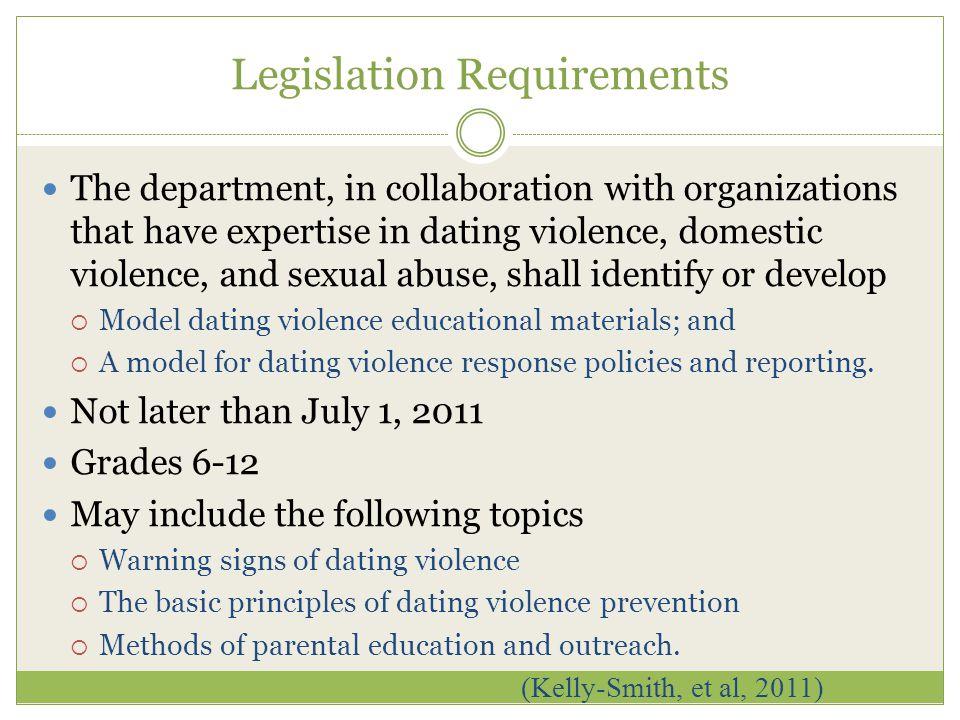 legislative requirements