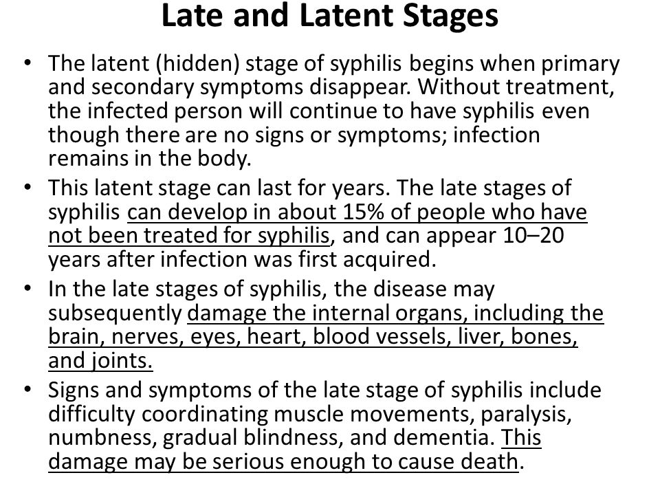 Second stage syphilis treatment with azithromycin