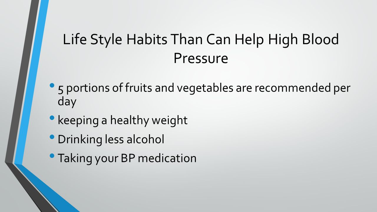 Hypertension by nancy fotinos what is hypertension hypertension 6 life style habits than can help high blood pressure 5 portions of fruits and vegetables are recommended per day keeping a healthy weight drinking less nvjuhfo Gallery
