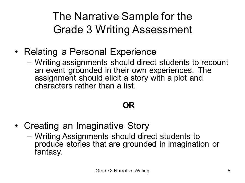 narrative essay for grad school