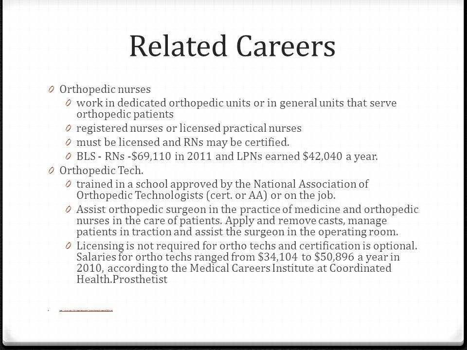 Career of the Week: Orthopedist (Orthopaedist) Clinical Health ...