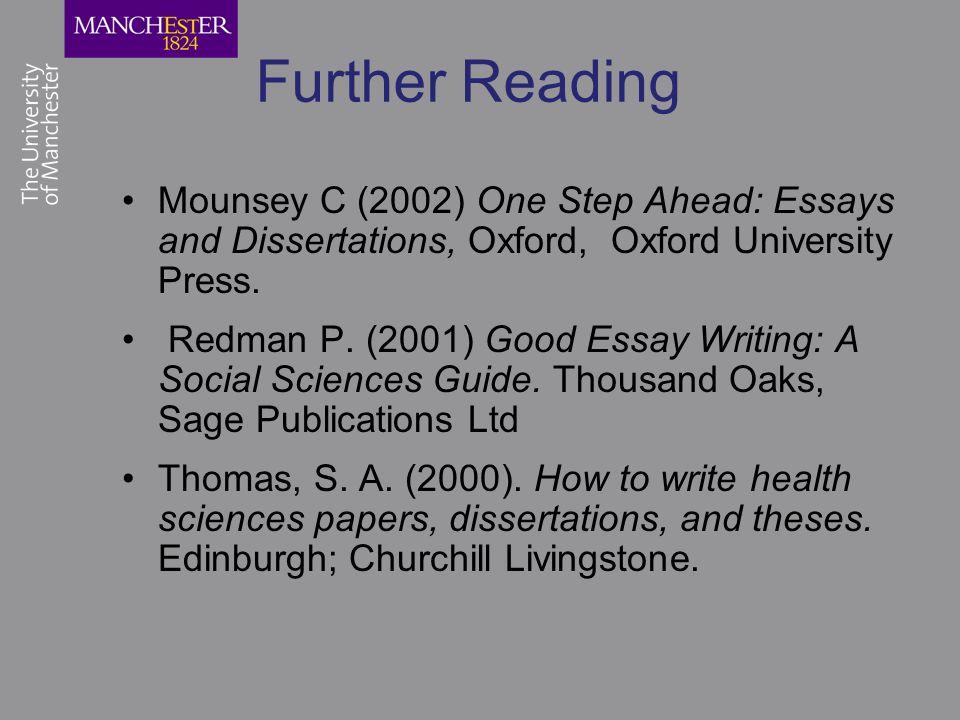 Writing a dissertation oxford
