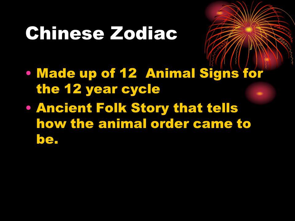 6 chinese zodiac made up of 12 animal signs for the 12 year cycle ancient folk story that tells how the animal order came to be - How Long Does Chinese New Year Last