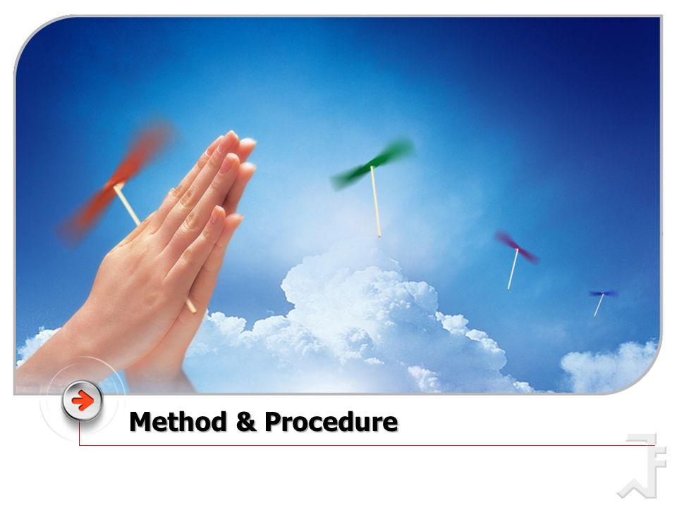 Method & Procedure