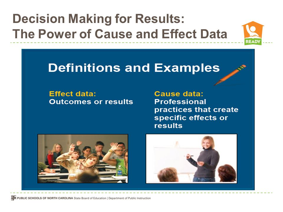 Decision Making for Results: The Power of Cause and Effect Data