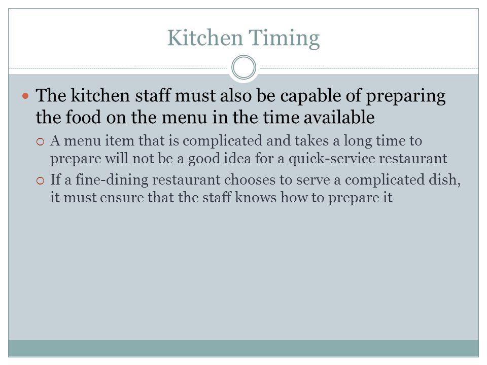 Restaurant Kitchen Terms recipes & cooking methods food production. key terms food
