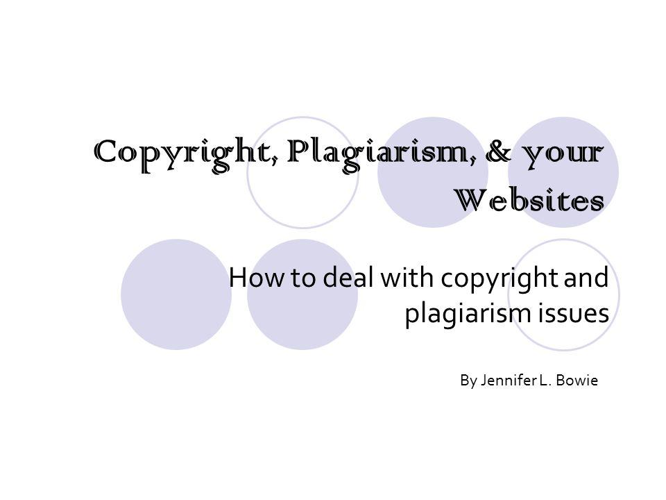 Plagiarism websites