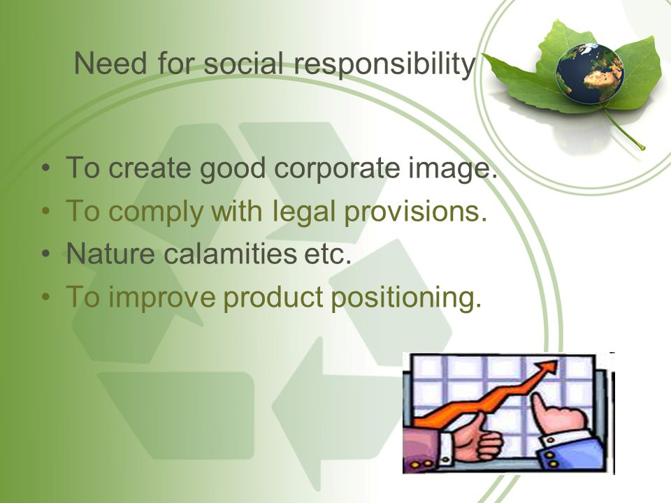 Does a business have any social responsibility?