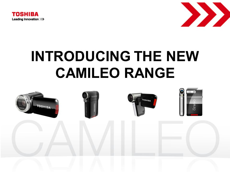 INTRODUCING THE NEW CAMILEO RANGE