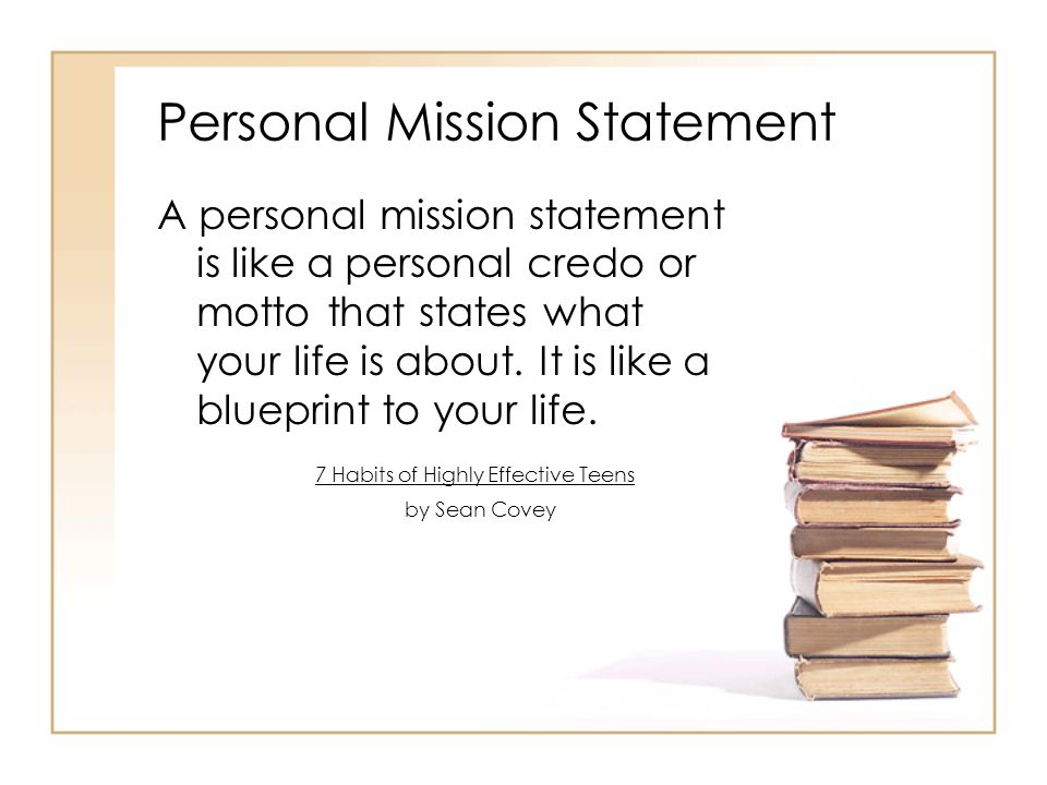 the mission statement essay
