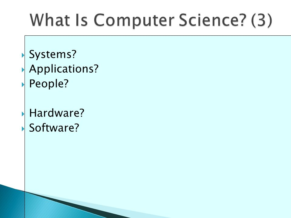  Systems  Applications  People  Hardware  Software
