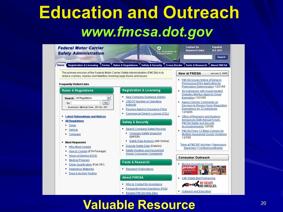 20 Education and Outreach   Valuable Resource