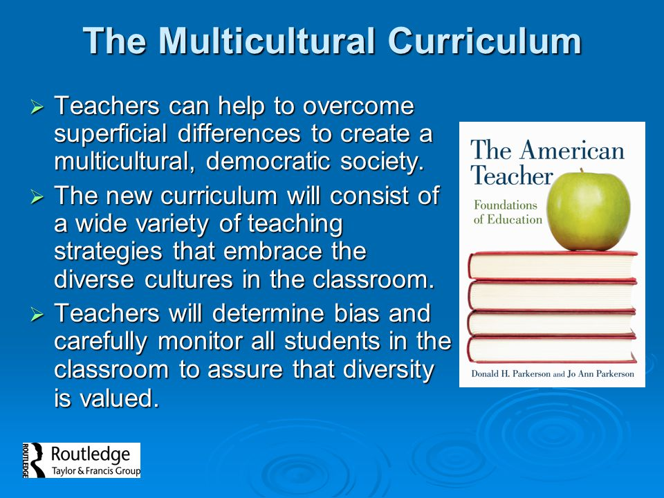 Creating a Multicultural Classroom  Use multicultural books and materials  Show an appreciation of cultural, racial, and ethnic differences  Avoid stereotypes  Acknowledge differences in children  Discover the diversity within the classroom (know your students and their backgrounds)  Accept and embrace all of your students