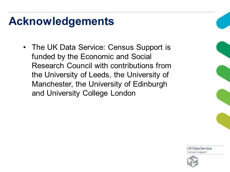 e census acknowledgement