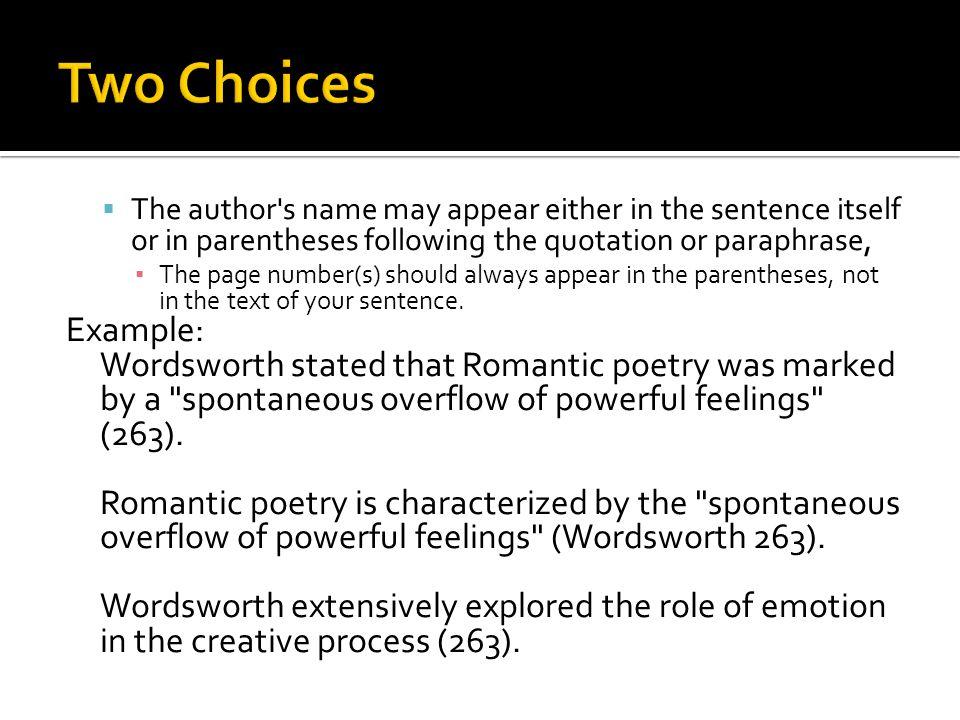 Paraphrasing Essay