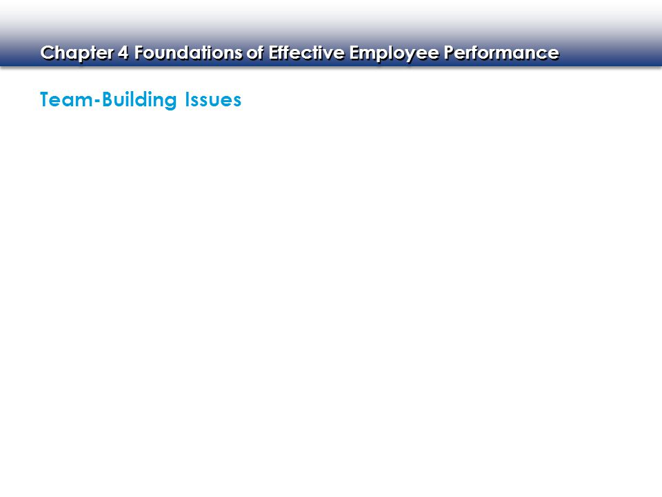 Chapter 4 Foundations of Effective Employee Performance EMPLOYEE RECOGNITION AND INCENTIVE PROGRAMS Planning Successful Programs Goals and Parameters Implementing the Program Rewards and Celebration