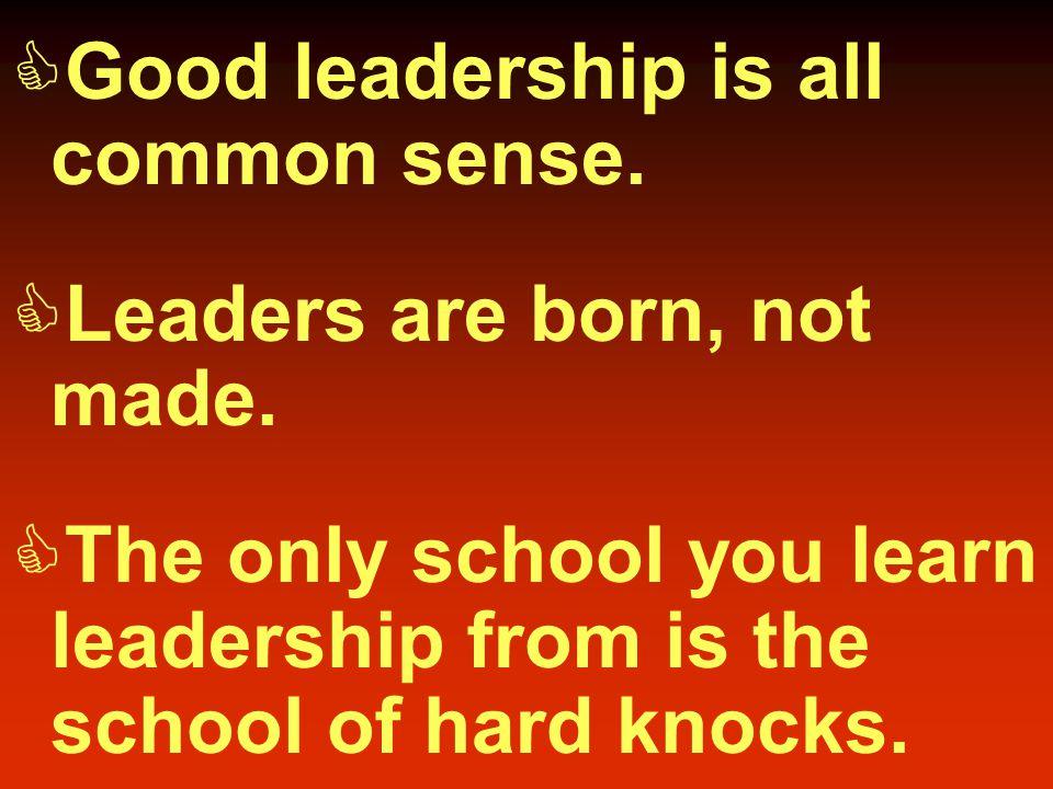 Myths That Hinder Leadership Development