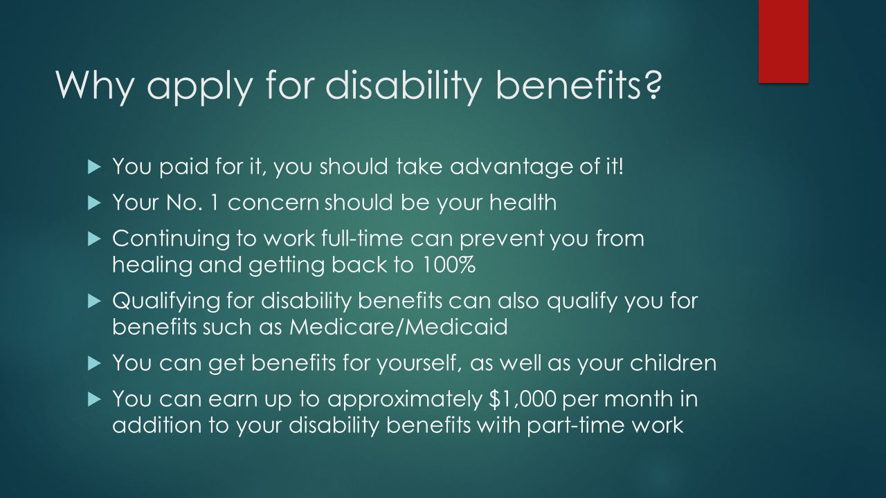 Benefits of disability benefits law office of jonathan edward why apply for disability benefits you paid for it you should take advantage ccuart Choice Image
