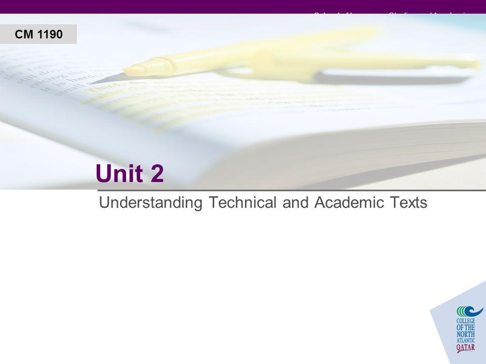An Adjective for Academics?