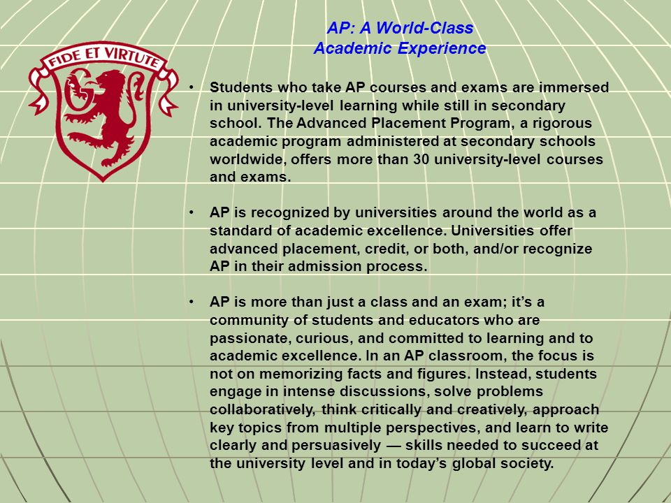 Are AP courses really equivalent to the university course?