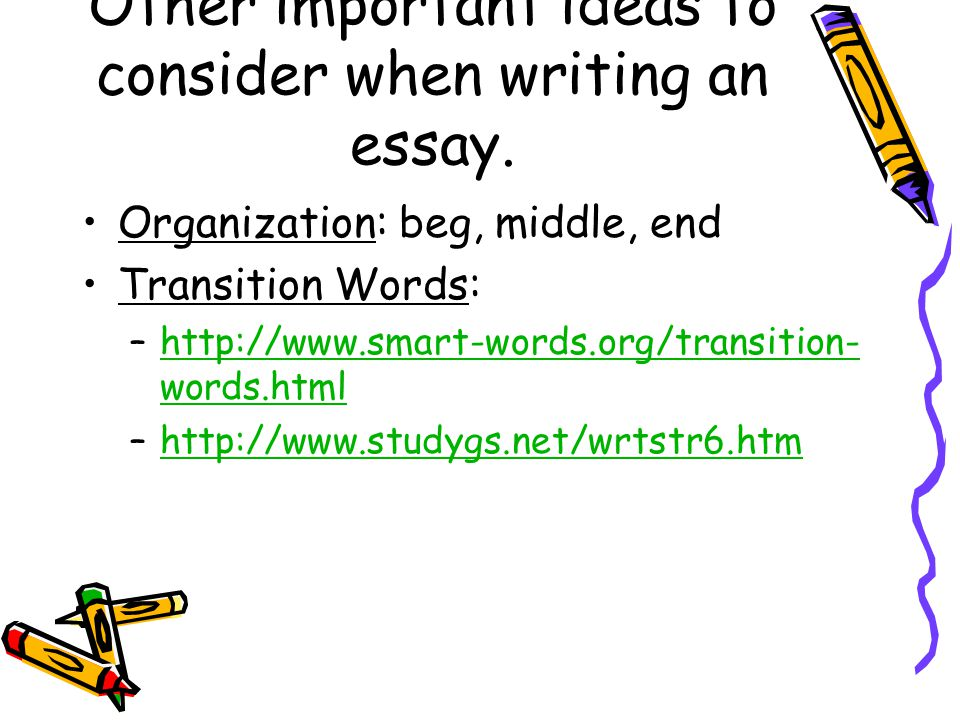 organizing expository writing a brief overview lead credit renee  other important ideas to consider when writing an essay