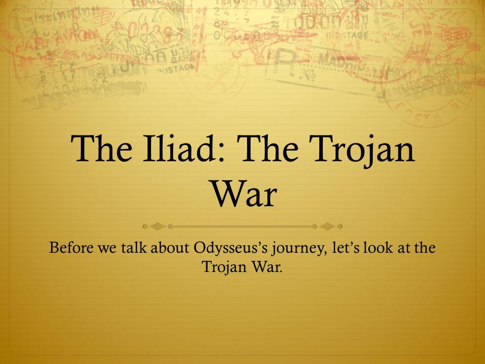 the trojan war essay