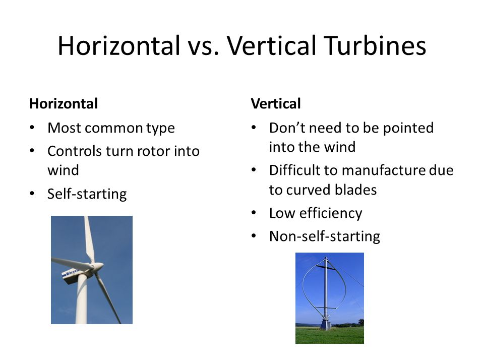 Horizontal vs.
