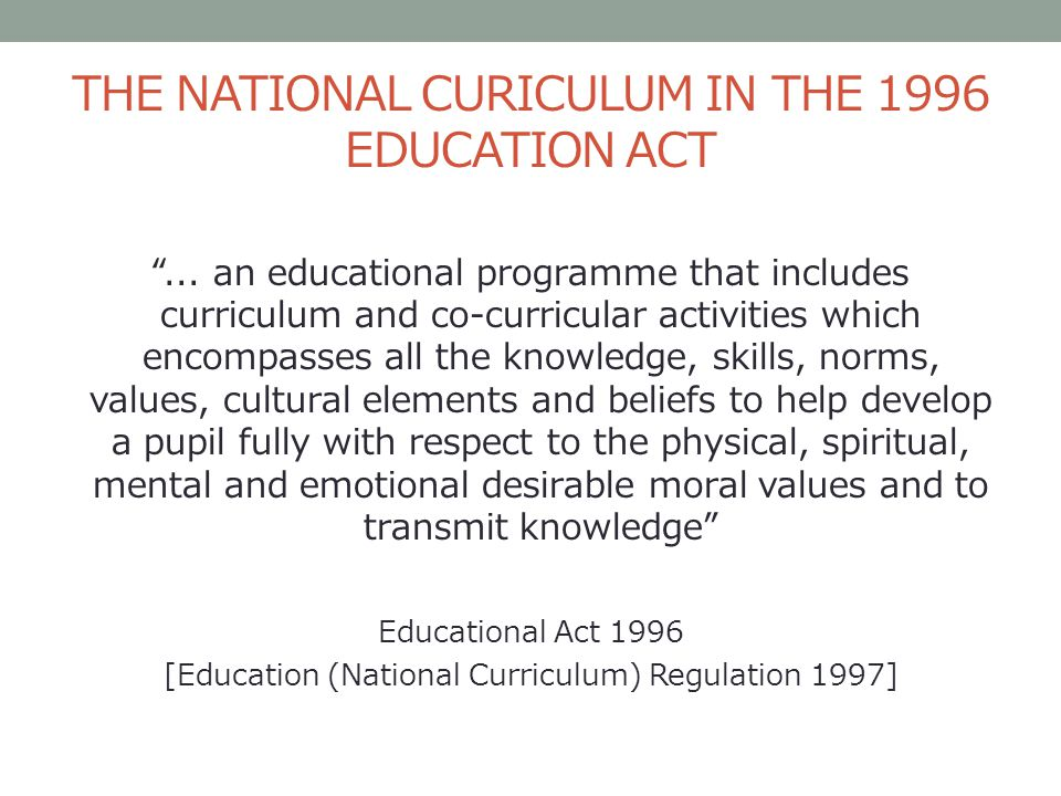 education act 1996 No 6 of 1996: northern cape school education act, read more about governing, subsection, learner, learners, provincial and regional.