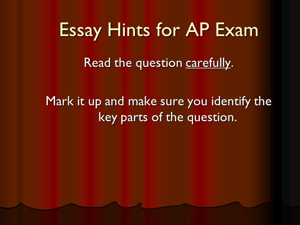 ap french essay prompts Ap french test information here is a wiki made by teachers all over the world to help with ap french then concludeone should use on in the ap essay where.