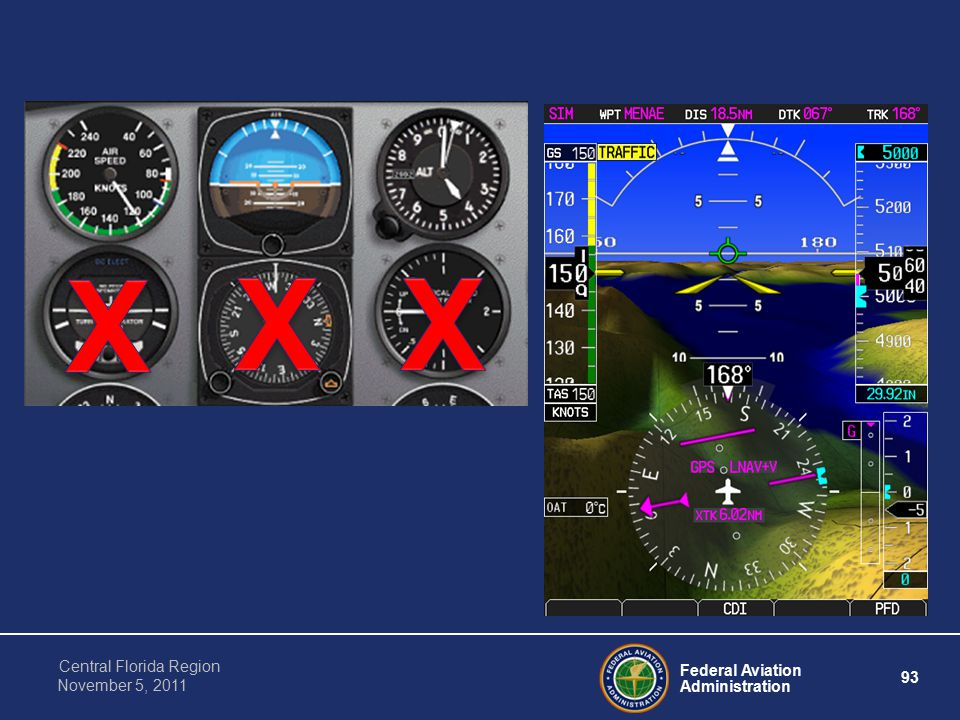 Federal Aviation Administration 93 Central Florida Region November 5, 2011