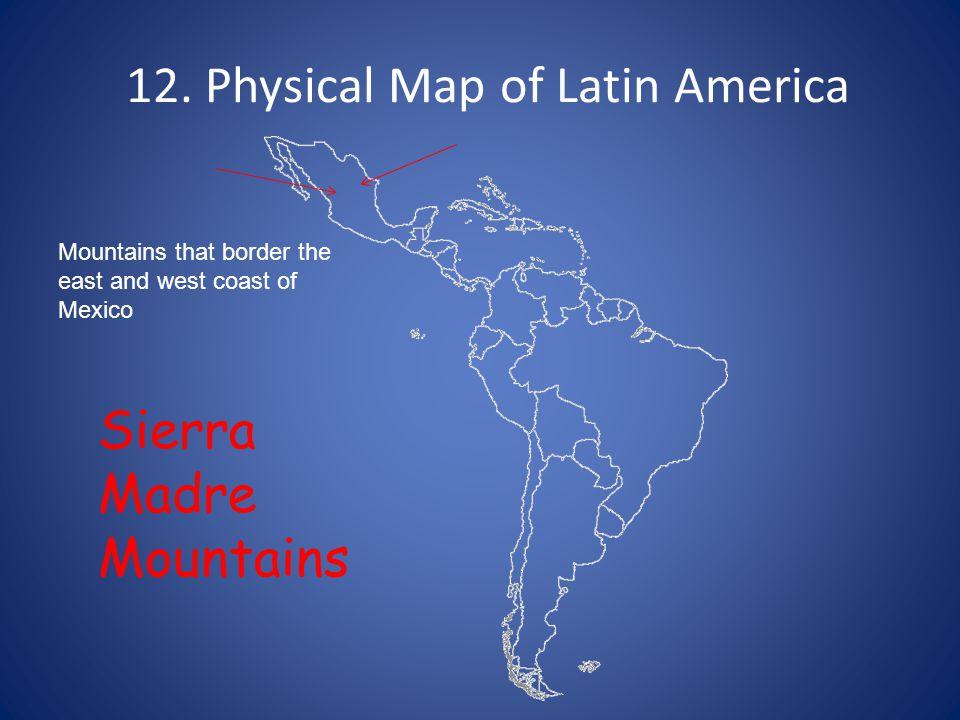 1 Political Map of Latin America South America 2 Political Map