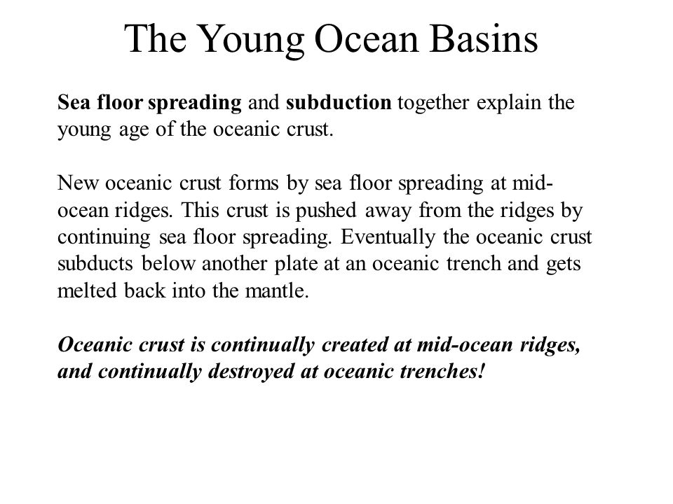 Plate tectonics is the concept that the outer part of the earth is ...