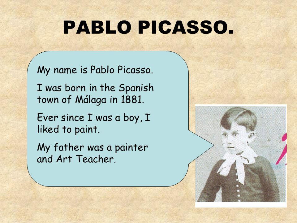PABLO PICASSO. By: Charo Cabanes.