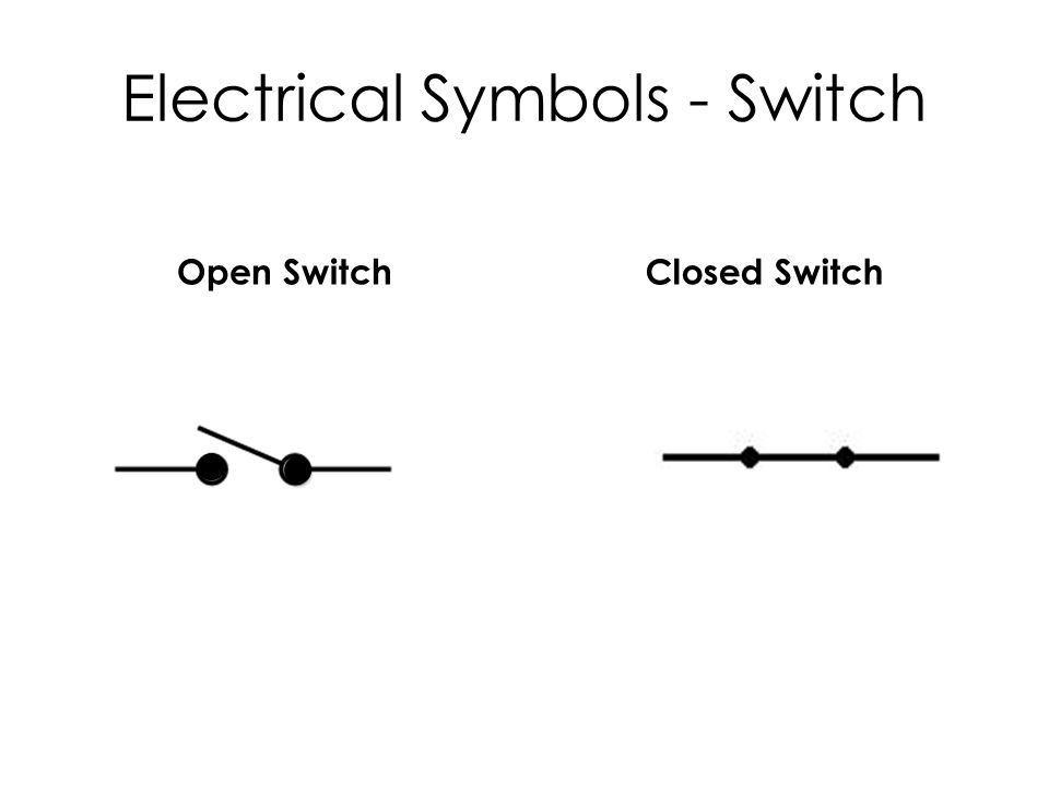 Dorable Electrical Switch Symbols Sketch - Schematic Diagram Series ...